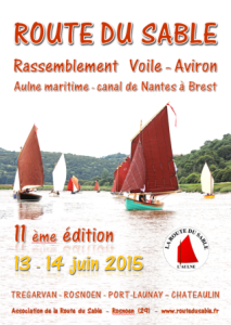 Route du Sable poster